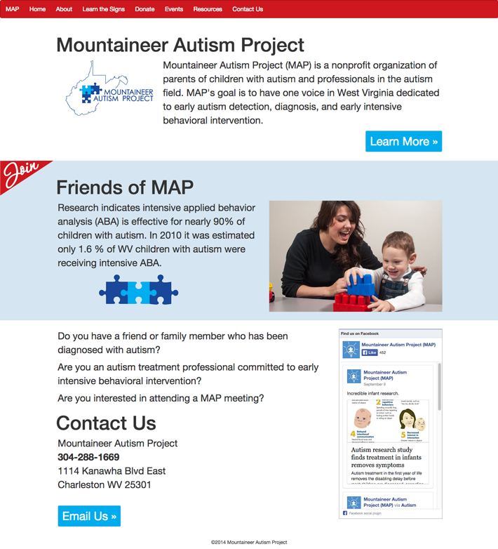 Mountaineer Autism Project